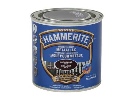 Hammerite laque brillant 0,25l brun foncé