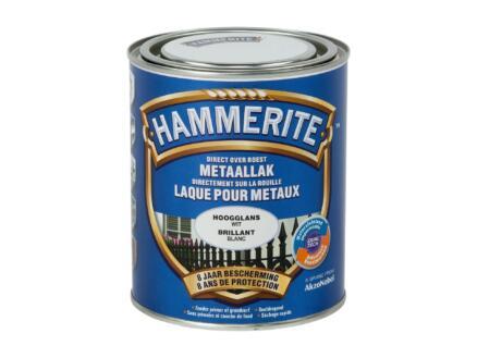 Hammerite laque brillant 0,75l blanc