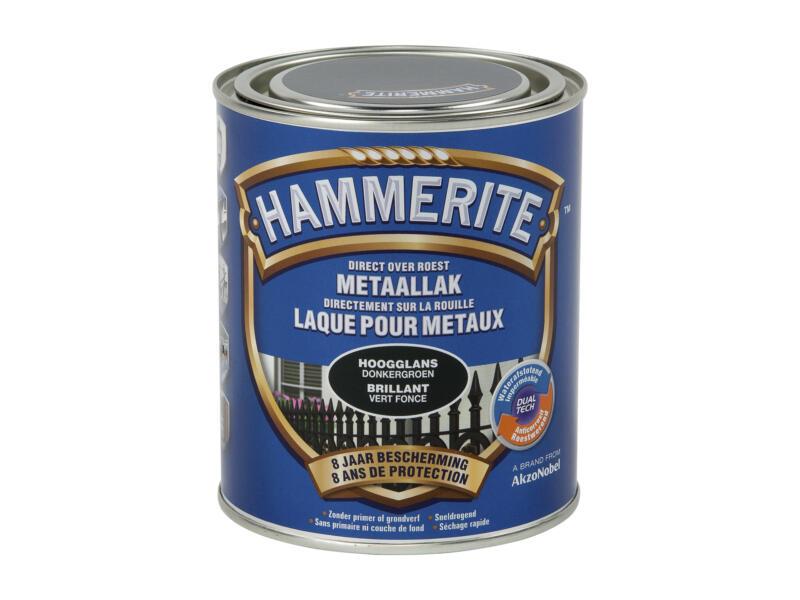 Hammerite laque brillant 0,75l vert foncé