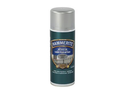 Hammerite laque en spray métal satin 0,4l gris argent