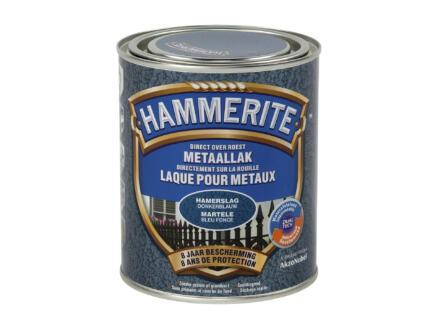 Hammerite laque martelée 0,75l bleu foncé
