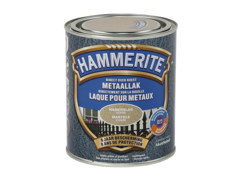 Hammerite laque martelée 0,75l cuivre