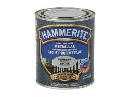 Hammerite laque martelée 0,75l gris argent