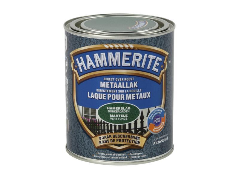 Hammerite laque martelée 0,75l vert foncé