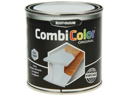Rust-oleum laque peinture métal brillant 0,25l aluminium blanc