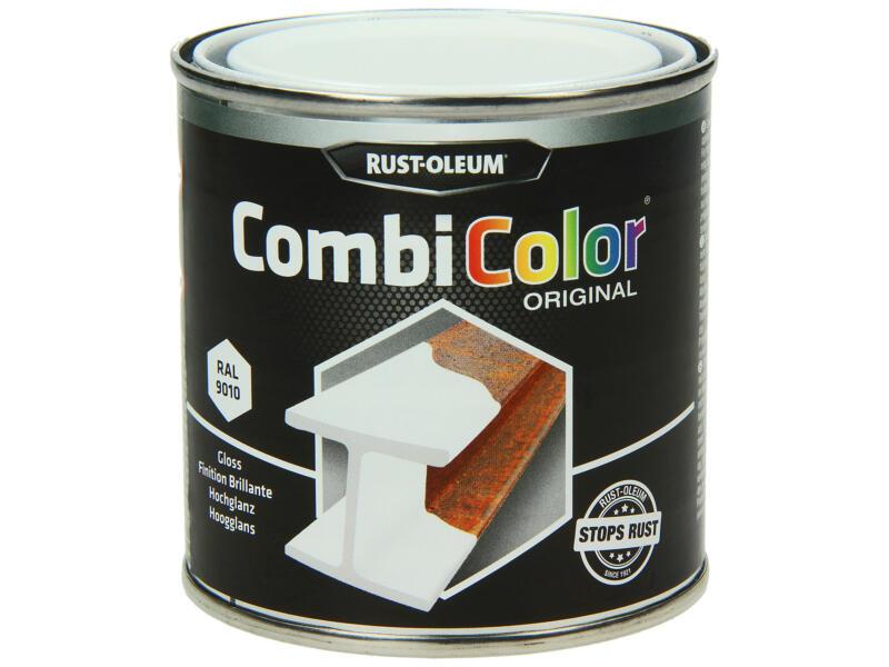 Rust-oleum laque peinture métal brillant 0,25l blanc pur