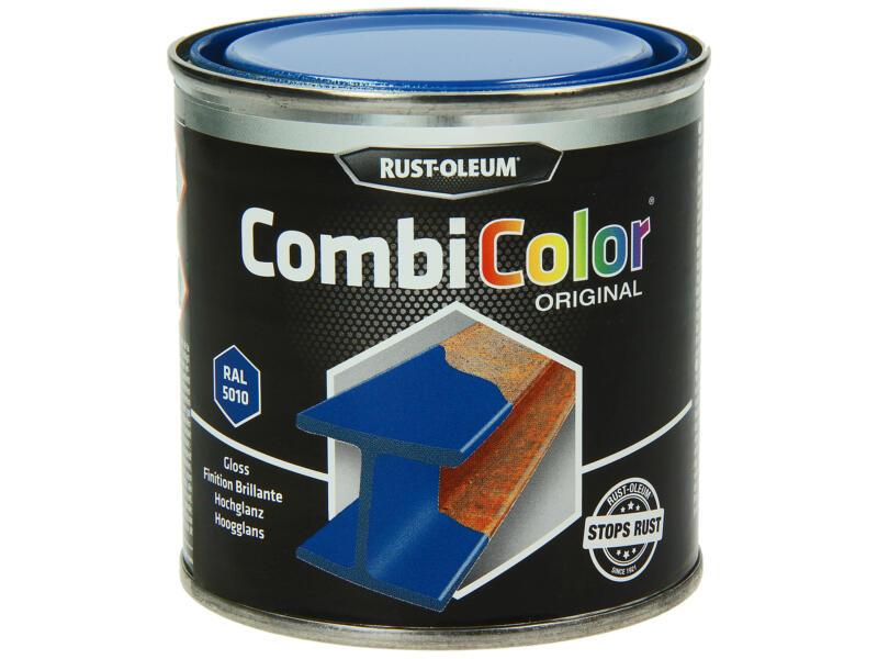 Rust-oleum laque peinture métal brillant 0,25l bleu gentiane