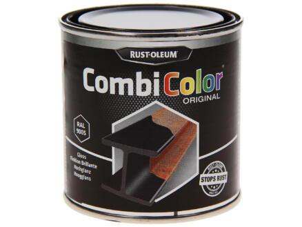 Rust-oleum laque peinture métal brillant 0,25l noir foncé