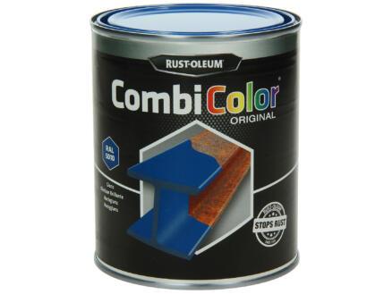 Rust-oleum laque peinture métal brillant 0,75l bleu gentiane