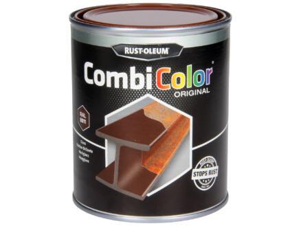 Rust-oleum laque peinture métal brillant 0,75l brun noisette