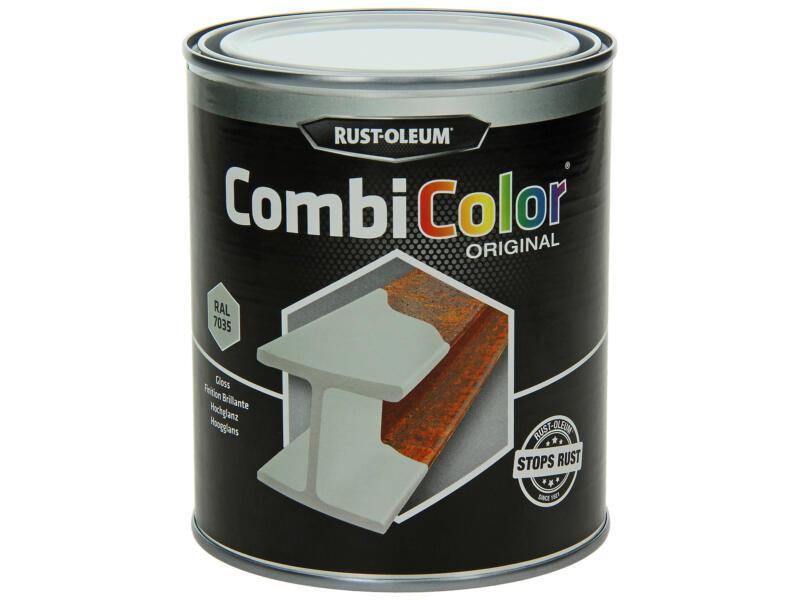 Rust-oleum laque peinture métal brillant 0,75l gris clair