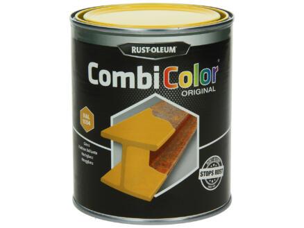 Rust-oleum laque peinture métal brillant 0,75l jaune or
