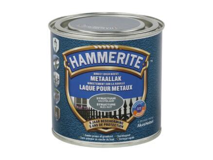 Hammerite laque peinture métal structure 0,25l bleu nuit