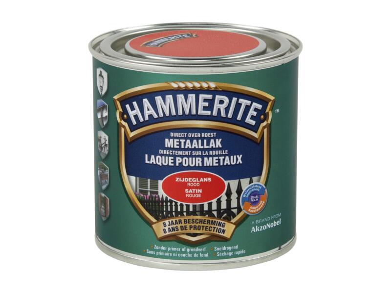 Hammerite laque satin 0,25l rouge