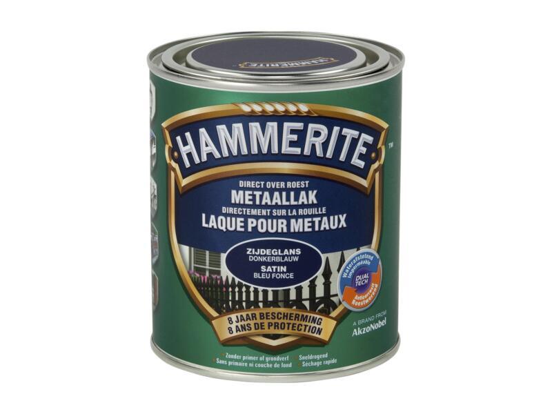 Hammerite laque satin 0,75l bleu foncé