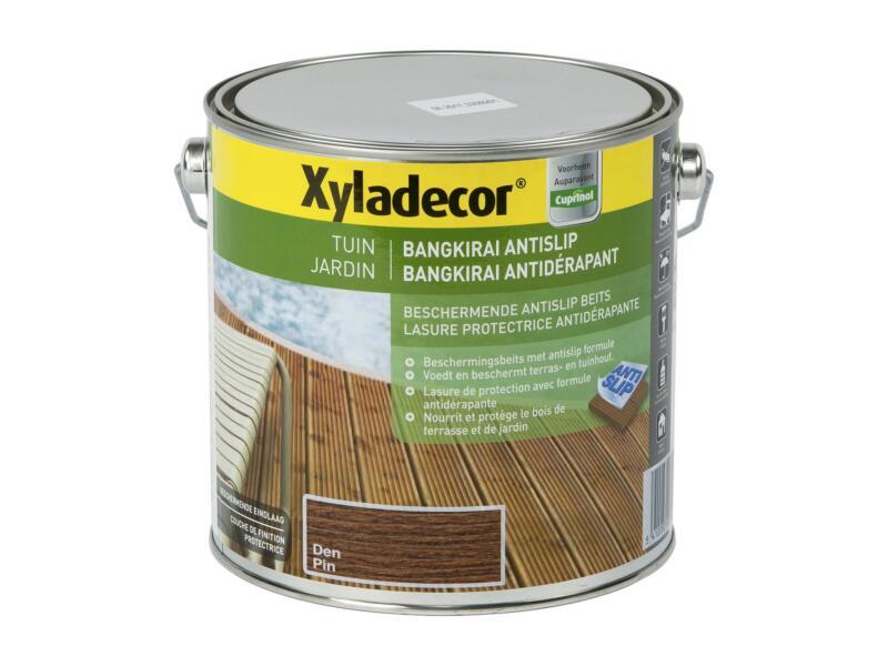 Xyladecor lasure antidérapante bangkirai 2,5l pin
