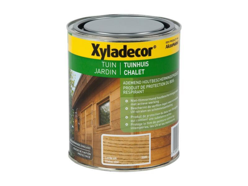 Xyladecor lasure bois chalet 0,75l chêne clair