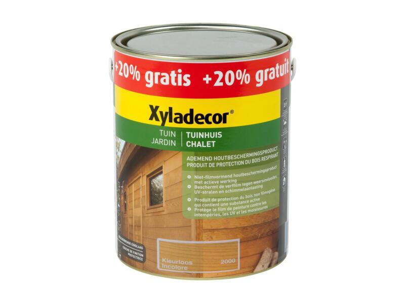 Xyladecor lasure bois chalet 2,5l + 0,5l incolore