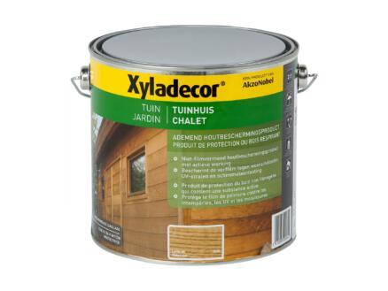 Xyladecor lasure bois chalet 2,5l chêne clair