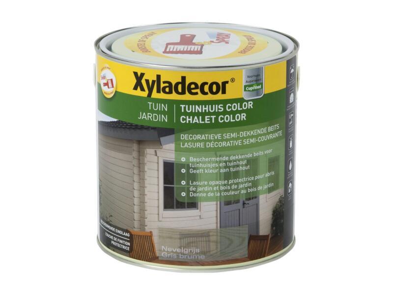 Xyladecor lasure bois de jardin color 2,5l gris brume