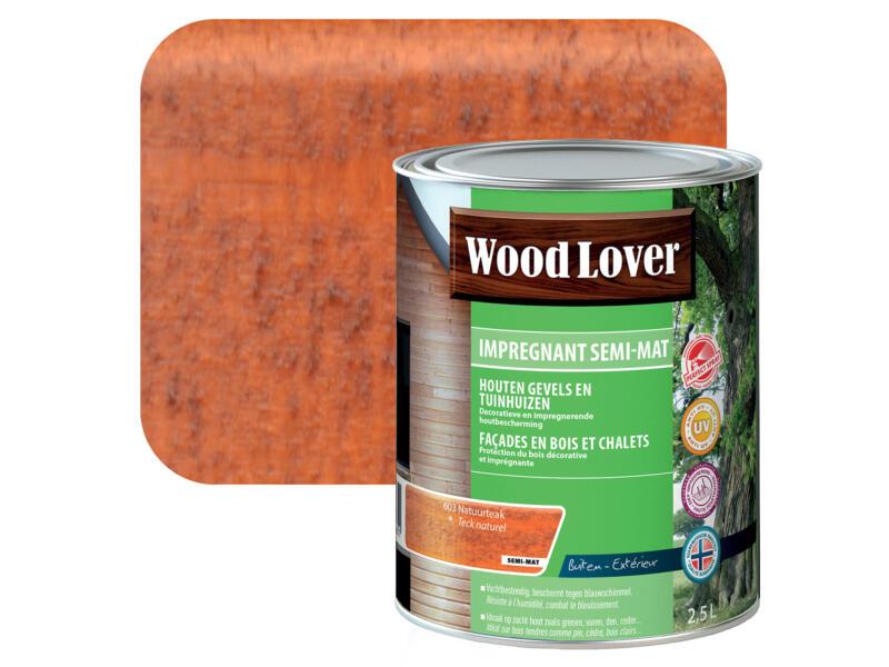 Wood Lover lasure d'imprégnation 2,5l teck naturel #603