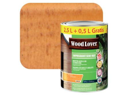 Wood Lover lasure d'imprégnation 3l chêne clair #693