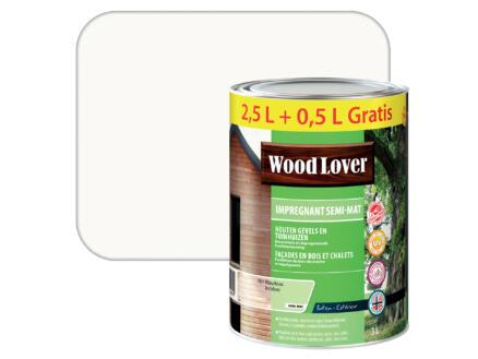 Wood Lover lasure d'imprégnation 3l incolore