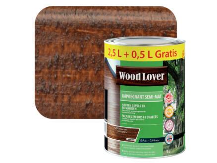Wood Lover lasure d'imprégnation 3l palissandre #629