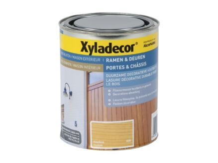 Xyladecor lasure portes & châssis 0,75l incolore