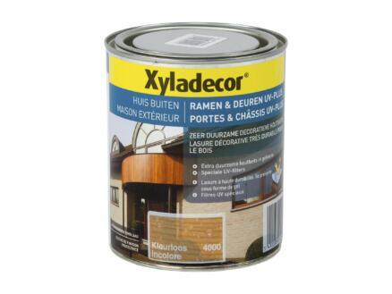 Xyladecor lasure portes & châssis UV-plus 0,75l incolore