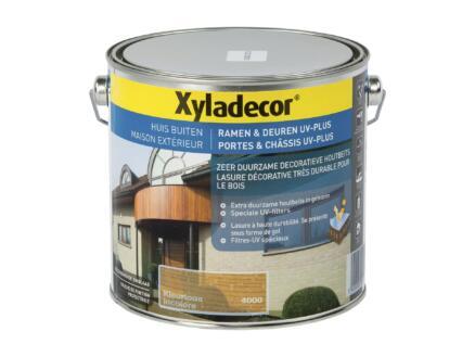 Xyladecor lasure portes & châssis UV-plus 2,5l incolore