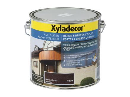 Xyladecor lasure portes & châssis UV-plus 2,5l noyer