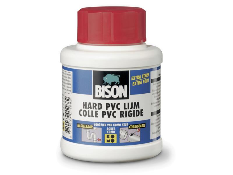 Bison lijm voor harde PVC 250ml transparant