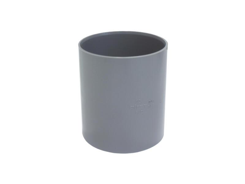 Scala lijmmof 80mm PVC grijs