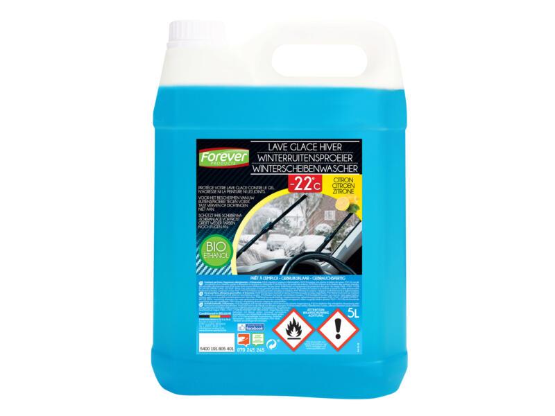 Forever liquide lave-glace -22° vitres bio-éthanol 5l