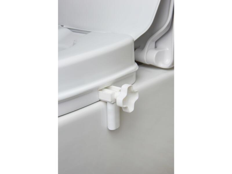 Secucare losse klemmen voor toiletverhoger met/zonder klep 2 stuks
