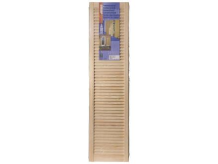Jewe louvredeur 152x38 cm 28mm grenen