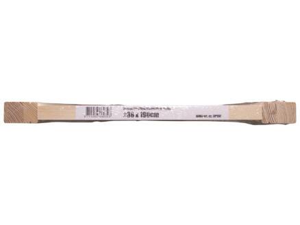 Jewe louvredeur 198x38 cm 28mm grenen