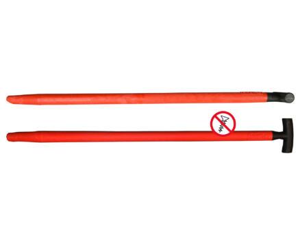 Polet manche de bêche 95cm 41mm fibre de verre