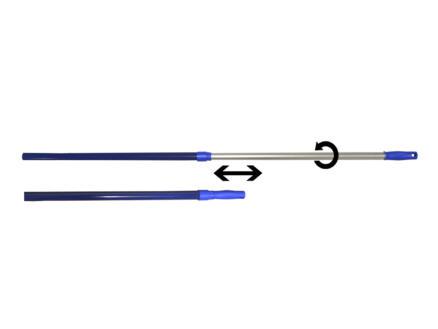 Polet manche télescopique 80-130 cm pour pelle à neige