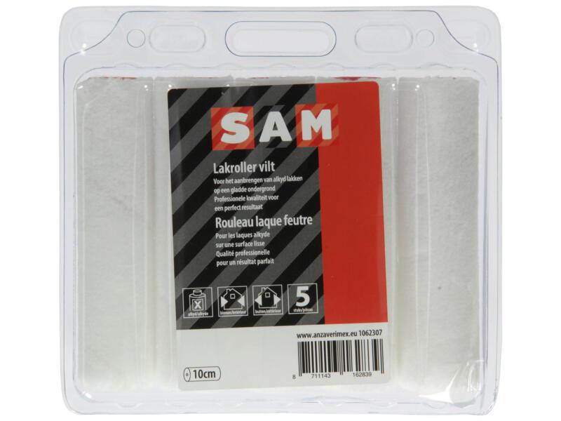 Sam manchon laqueur 10cm feutre laque en phase solvant 5 pièces