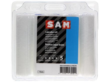 Sam manchon laqueur 10cm feutre peinture acrylique 5 pièces