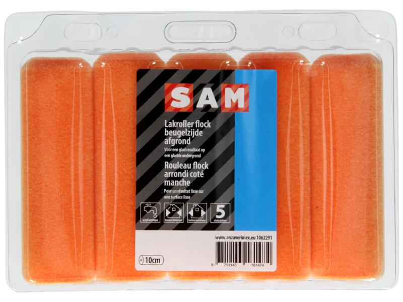 Sam manchon laqueur 10cm flock peinture acrylique 5 pièces