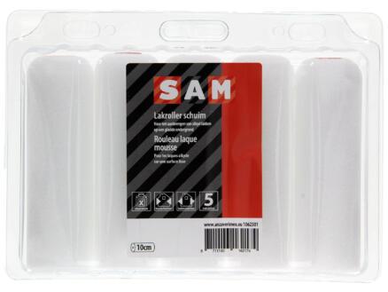 Sam manchon laqueur 10cm laque en phase solvant mousse 5 pièces