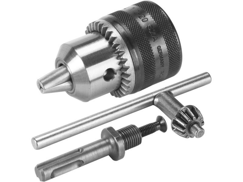 Bosch mandrin à clé avec adaptateur SDS-plus 1,5-13