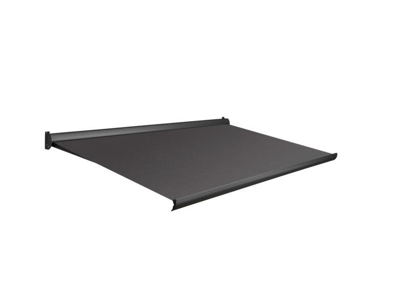 Domasol manuele zonneluifel F10 400x300 cm donkerbruin met antracietgrijs frame