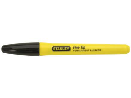 Stanley marqueur pointe fine noir