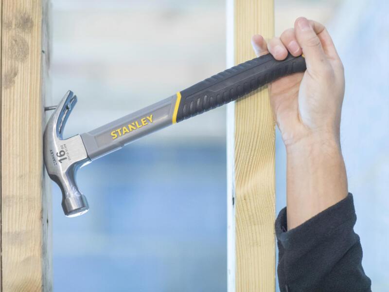Stanley marteau de charpentier 450g fibre de verre