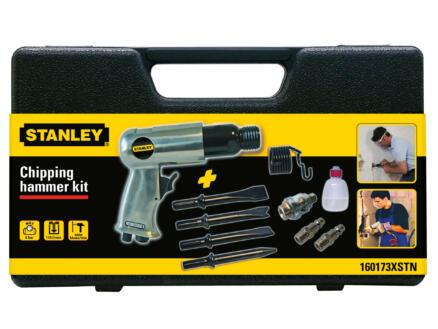 Stanley marteau pneumatique + 4 ciseaux à raccord hexagonal