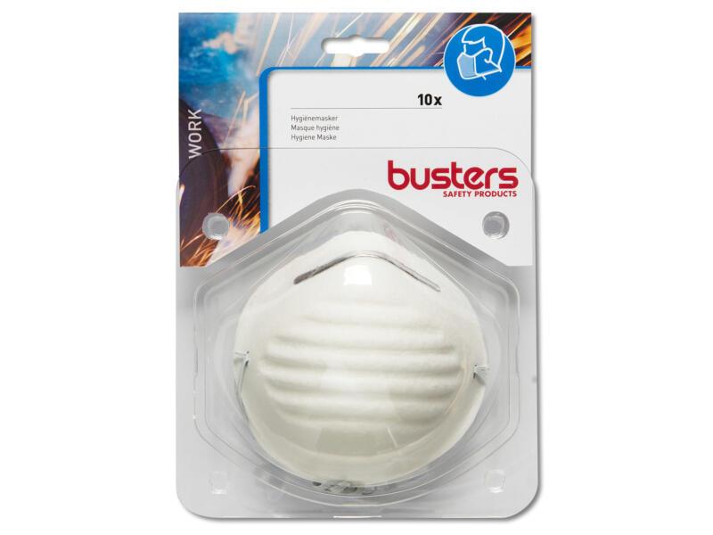 Busters masque d'hygiène 10 pièces